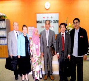 マレーシア プトラ大学にて